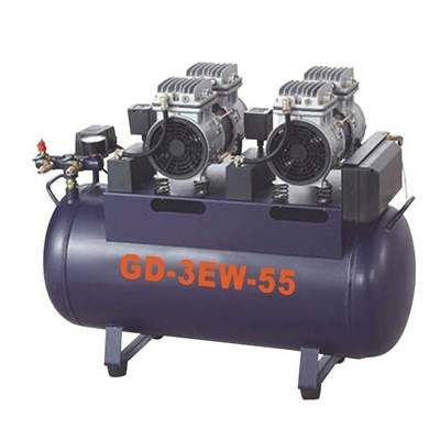 Dental oilless air compressor GD-3EW-55