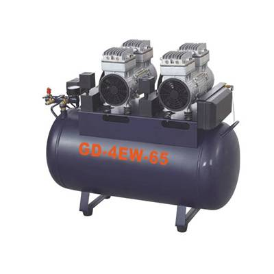 Dental Oil free air compressor GD-4EW-65
