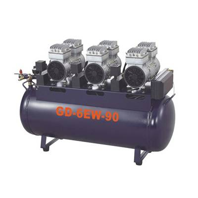 Medical oil free  air compressor GD-6EW-90