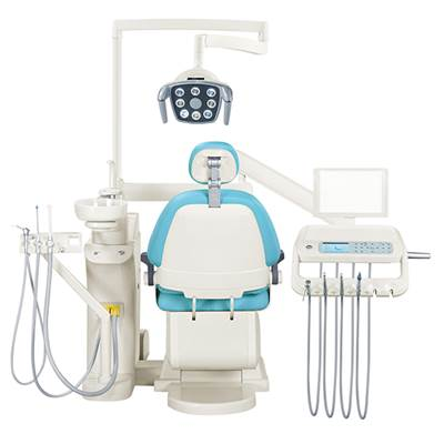 floor fixed dental unit